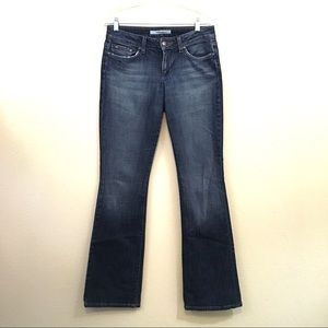 Joes Honey fit Low Rise bootcut dark wash jeans 29